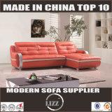 L sofá moderno Lz328 do couro do estilo da forma