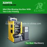 Mini film soufflant avec une machine d'impression de couleur