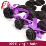 El 100% tejer brasileños del pelo de la onda de la carrocería del pelo humano del pelo de la Virgen