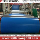 capa de aluminio del PE de la bobina del color de 0.31m m