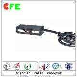 Conector de cabo magnético eletrônico de 3 pinos para fornecedor de carga