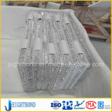 Honey&simg di alluminio di pietra di marmo; Comitato di Omb per mobilia