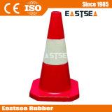 Côté de circulation en caoutchouc couleur blanche et rouge (DH-LZ-4)