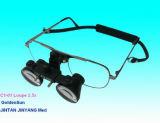 Quirúrgico Dental portátil magnificador óptico de 2.5x