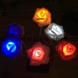LEDローズの花の海の装飾ライト
