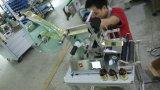Tischplattenart füllt Glas-Etikettiermaschine ab