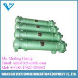 Coperture e scambiatore di calore di titanio del tubo per il raggruppamento