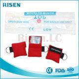 Kundenspezifische Firmenzeichen CPR-Gesichts-Schild CPR-Schablone Keychain