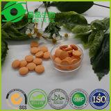 La peau blanchissant la vitamine C de supplément de santé de pillules marque sur tablette 1000mg