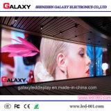 Schermo di visualizzazione esterno dell'interno del LED di alta luminosità per fare pubblicità