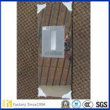 Doble revestimiento de aluminio espejo precio de la decoración del edificio