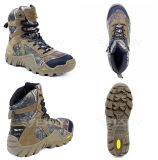 Esdy Military Tactical Training Assault Combat Tree Camo Waterproof Boots