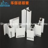 Profil en verre d'aluminium d'enduit de porte/poudre de salle de bains de porte de profil en aluminium intérieur décoratif