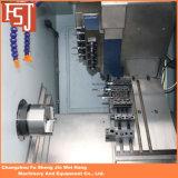 60 CNC van het Bed van de Helling van de graad de Kleine Machine van de Draaibank