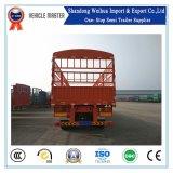 Clôture de 40t Cargo Truck jeu camion avec remorque 3 essieux pour le transport de marchandises