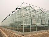 野菜栽培の情報処理機能をもったガラス温室