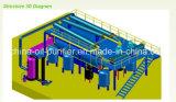Überschüssige Motoröl-Destillation-Maschine/schwarze Bewegungsöl-Reinigungsapparat-Maschine