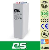 2V2000AH OPzV電池によっては、5年の管状の陽極電池UPS EPSの深いサイクルの太陽エネルギー電池の弁によって調整される鉛のAicd電池が保証、>20年の生命ゼリー状になる