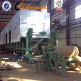 Varios cilindros de mesa plana de papel corrugado que hace la línea (2880mm) con el fabricante chino