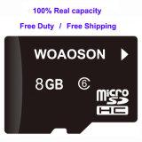 실제적인 수용량 메모리 카드 마이크로 SD 카드 32GB 종류 10