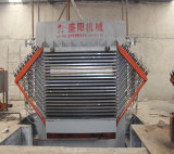 Maquinaria quente da imprensa do Woodworking hidráulico