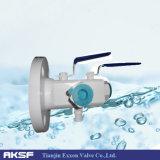 Anis / ASME / DIN / SS / CS doble de purga y válvula de bola doble bloqueo (DBB)