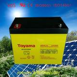 batterie d'acide de plomb rechargeable de batterie de gel de la batterie 12V80ah solaire