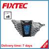 Комплект гаечного ключа кольца стали углерода ручных резцов 8PCS Fixtec смещенный