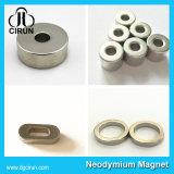 Ímãs de anel fortes feitos sob encomenda do Neodymium do tamanho N52