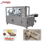 Längere Marken-automatische Zigaretten-Zellophan-Verpackungs-Maschine