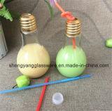 금속 덮개를 가진 최신 판매 램프 유리병 또는 마시는 찻잔 또는 식품 보존병