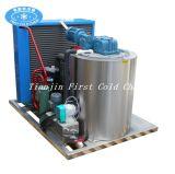Máquina de gelo de flocos de Rance comercial 1t/24h para Safood manter frescos