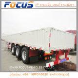 Qualitäts-seitliche Wand-halb Schlussteil für Transport der Ladung-50t