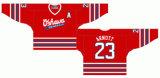Casa dei General 1984-2006 di Oshawa della Lega di Hockey di Ontario/hokey ghiaccio personalizzati della strada Jersey