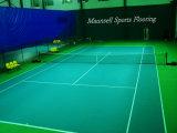 PVCは屋内テニスのためのフロアーリングを遊ばし、領域の草パターン表面を遊ばす