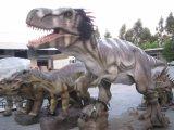 Для использования внутри помещений реалистичные модели Mamenchisaurus динозавров на выставку