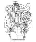 Motor diesel de los Multi-Cilindros refrigerados por agua para Genset (4JR3ABD)