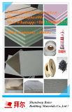 Tarjeta de yeso de la decoración para la tarjeta de yeso de la cara del papel de empapelar de partición del techo