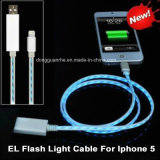 iPhone (RHE-A1-016)のためのEL Visible Flowing LED Charging Cable
