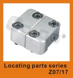 Mechanisme van de Plaatsbepaling van de Koppeling van de Vorm van de injectie het Plastic Bijkomende Vierkante