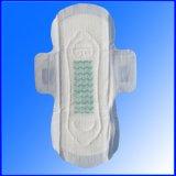 Servilleta sanitaria de seda orgánica del anión respirable para la señora