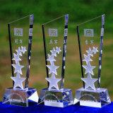Trophée en cristal de nouveauté pour les jeux de sport (KS04204)