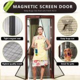 2018磁気網戸のドアのはえスクリーンをカスタマイズした