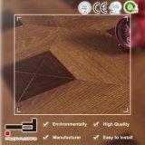 Pavimentazione laminata Brown classica dell'inarcamento circolare HDF