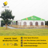 Grande tenda di evento di Huaye con Windows francese trasparente (hy068b)