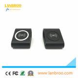 Anti mini chargeur sans fil portatif de dérapage de modèle pour des smartphones de norme de Qi