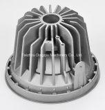 Dissipatore di calore di alluminio rotondo su ordinazione in Cina