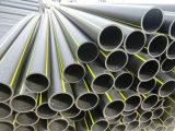 HDPE tubería para gas de agua y drenaje de uso