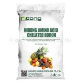 El ácido amino fertilizante micronutrientes Boro quelatados