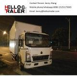 Sinotruk HOWO 4X2 5ton Cooler Van Truck